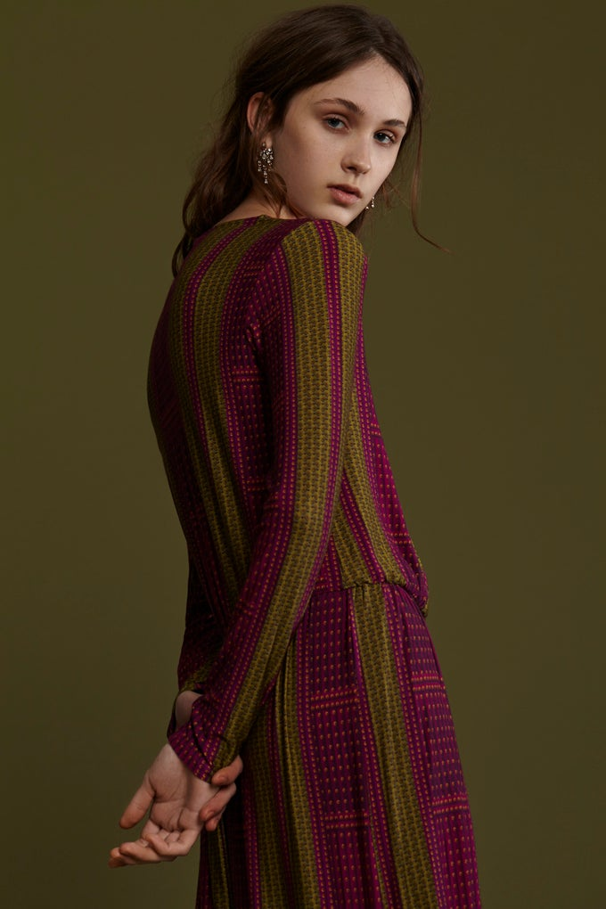 Image of FRAMPESCA BORCHIETTE MAXI DRESS