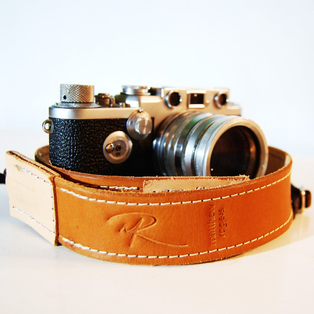 Image of Leather Camera Strap
