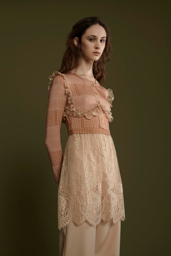 Image of FRAMPESCA LACE TOP