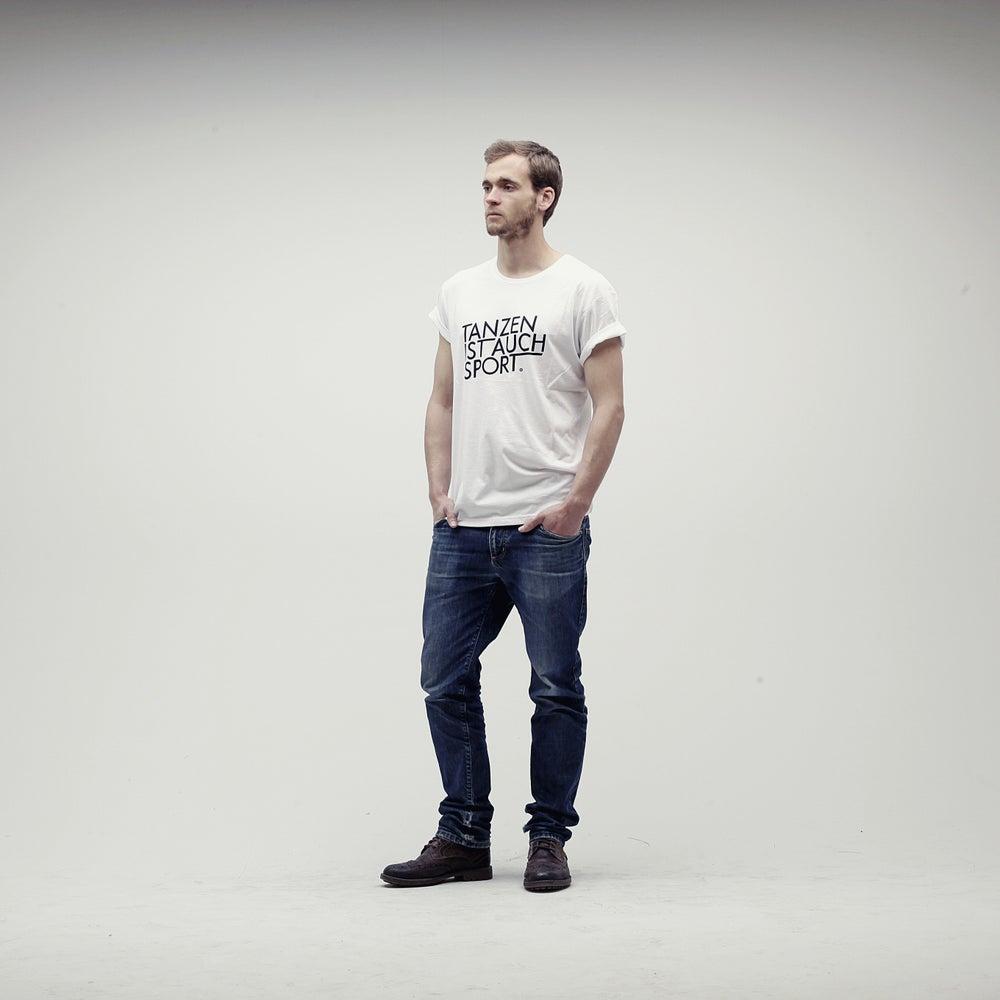 Image of Tanzen ist auch Sport / White T-Shirt (Unisex)