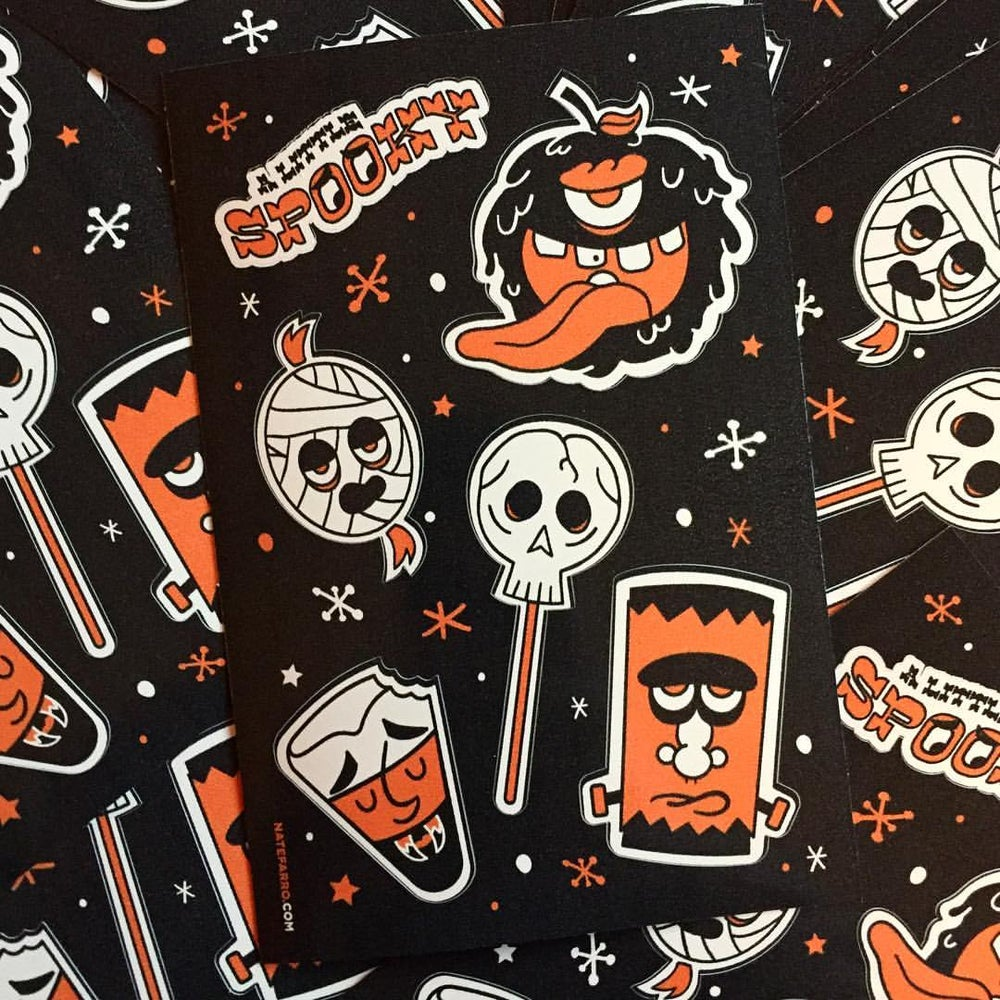 Image of Spooky Sticker Sheets (2 Pack)