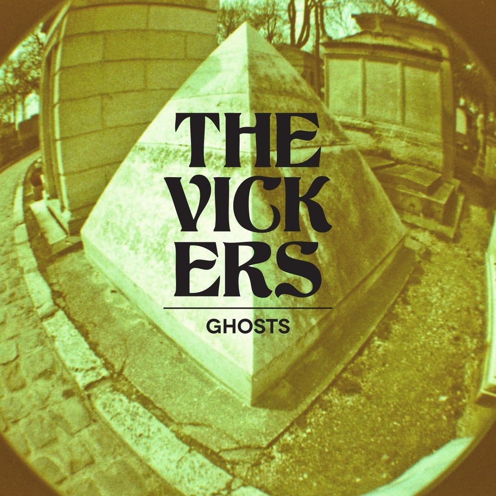 "Image of The Vickers - ""Ghosts"" CD"