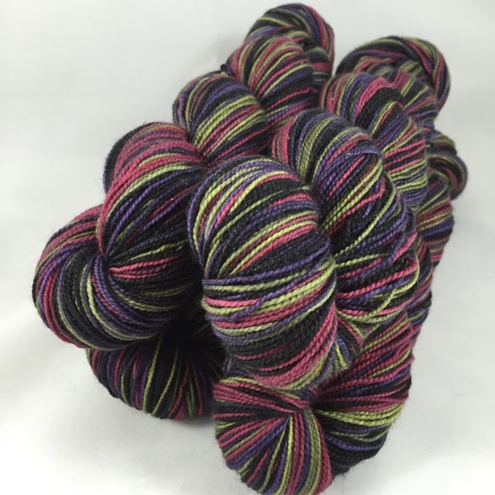 Image of Count Sheepula: Superwash tweedy Stalwurthe Self Striping Sock Yarn