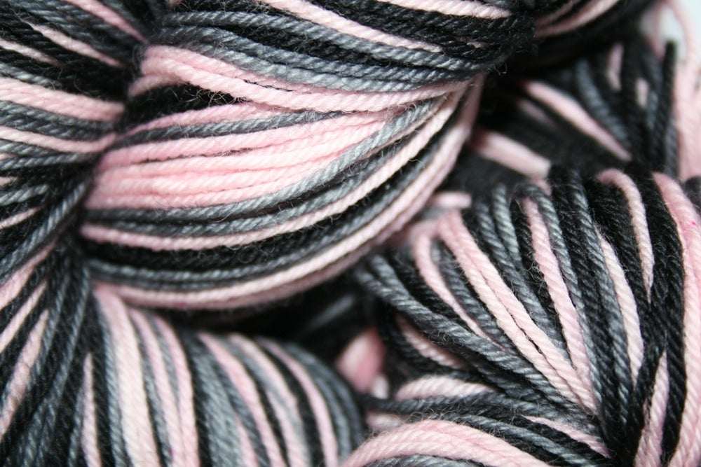 Image of Low-ee-da: Superwash Strong Heart, Boot Strap BFL, or sparkly Panache Self Striping Sock Yarn