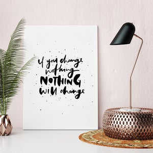 Image of Nothing Print