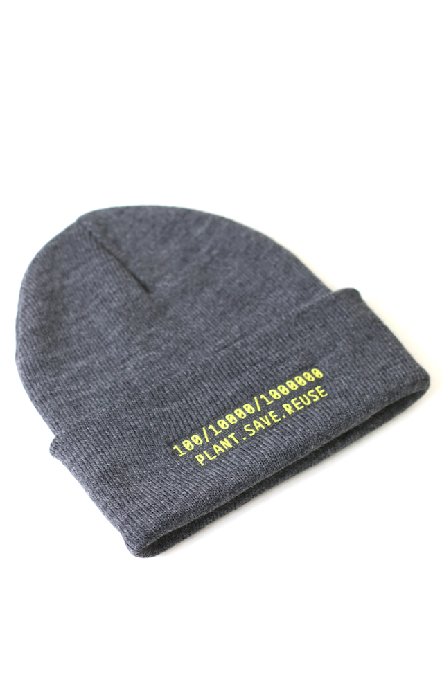 Image of PROJECT REFORESTATION [GOALS] BEANIE