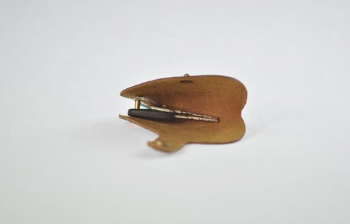 Image of Handmade Genuine Natural Leather Key Holder, Leather Key Organizer, Leather Key Chain E01