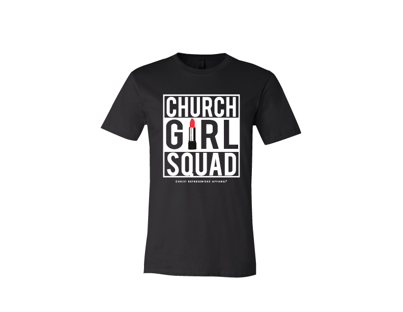 Image of CHURCH GIRL SQUAD TEE