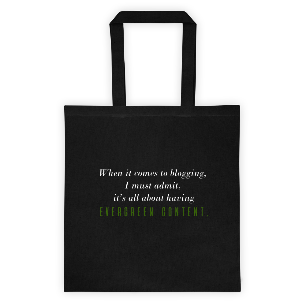 Image of Evergreen Content Tote