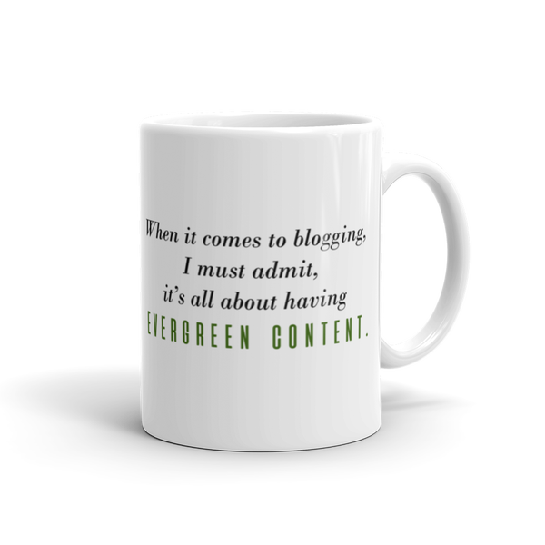 Image of Evergreen Content Mug