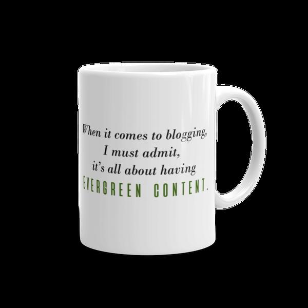 Image of Evergreen Content Mug