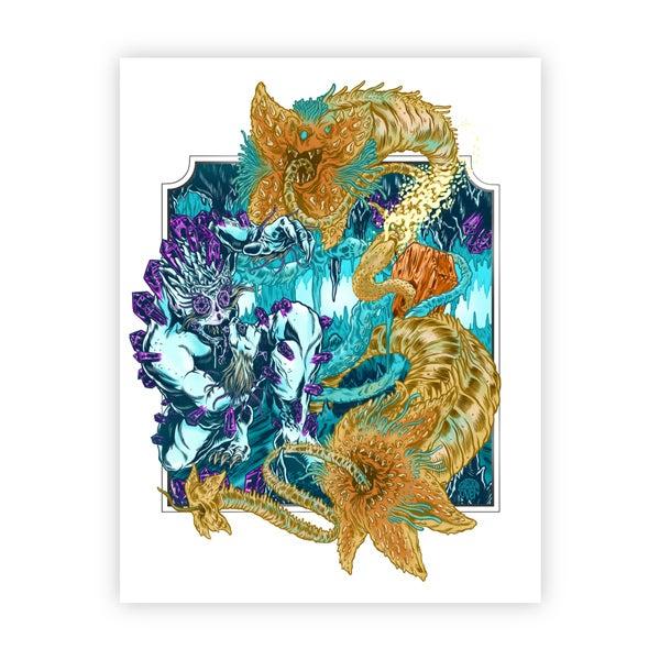 Image of DIAMOND DEMON print