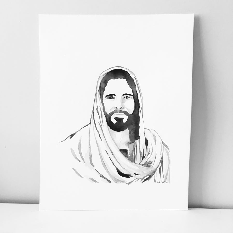 Image of Jesus Watercolor  (Please Specify Choice)