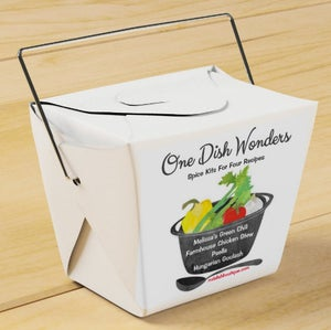 """Image of Take-Out Gift Set """"One Dish Wonders"""" Spice Kits"""