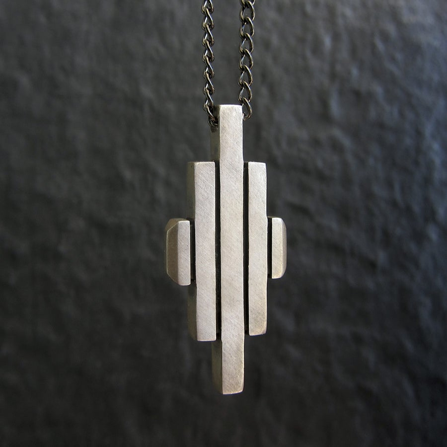 Image of Metropolis Necklace Silver
