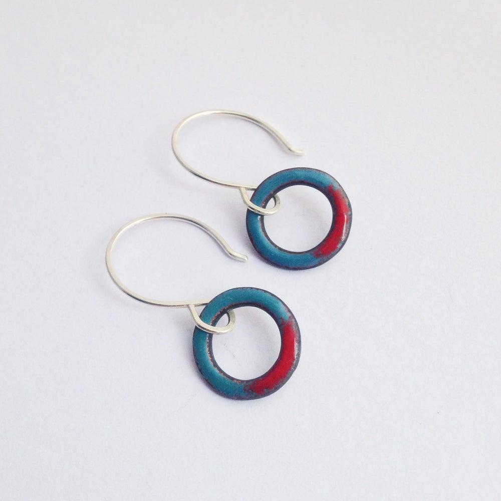 Image of mini looper earrings