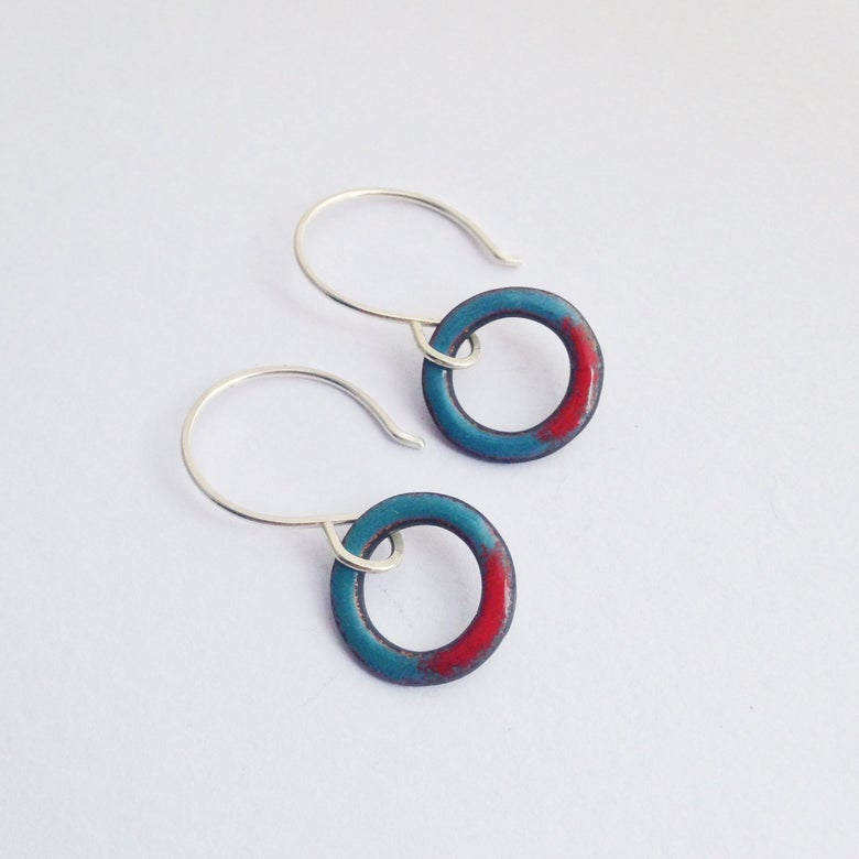 Image of mini looper earrings