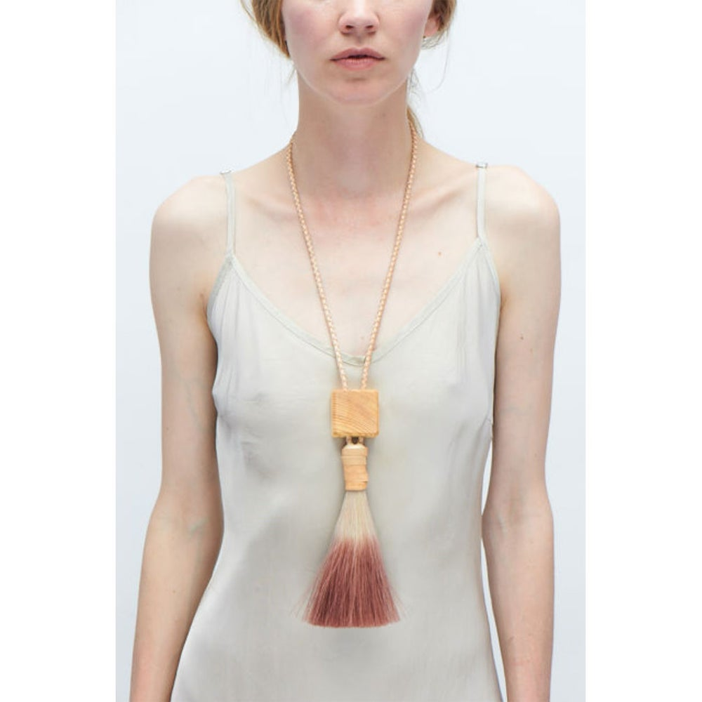 Image of Block Bolo Necklace