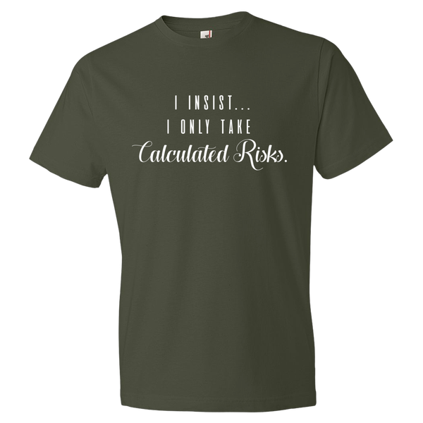 Image of Calculated Risks Tee (Unisex)