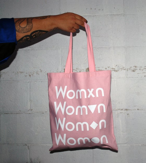 Image of Pink Womxn tote