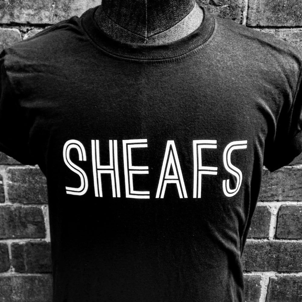 Image of SHEAFS T-Shirt Black/White
