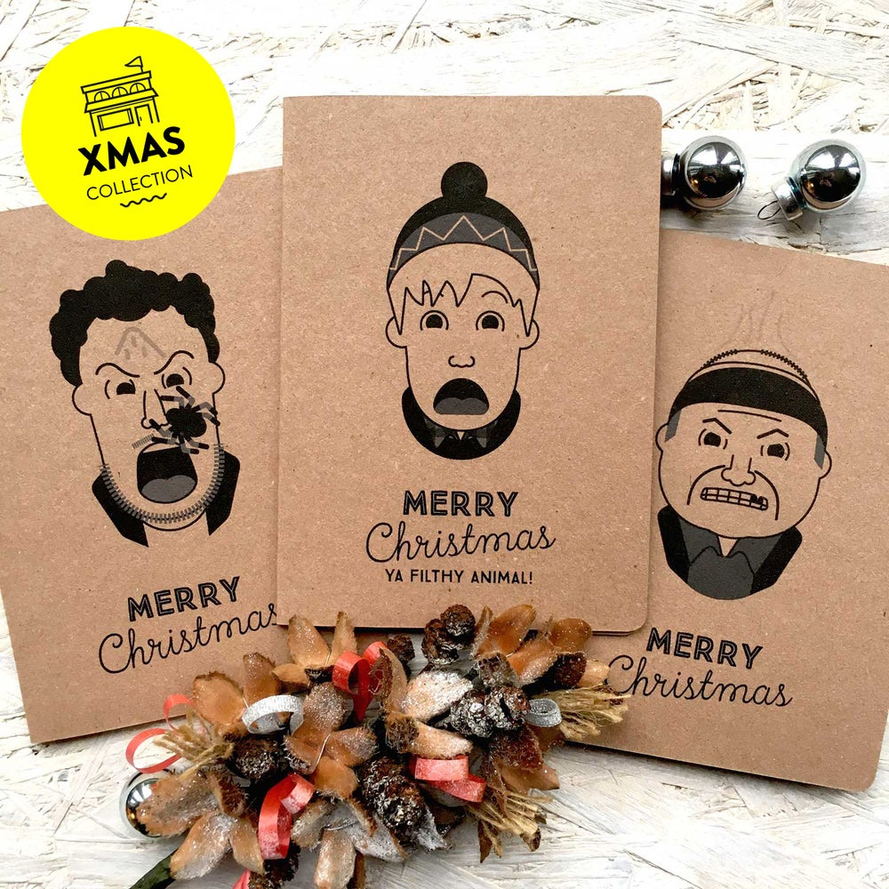 Image of Home Alone Classic inspired Christmas card set