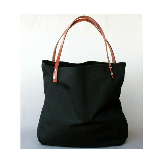 Image of Maxi Bolso - Shopping bag - Negro