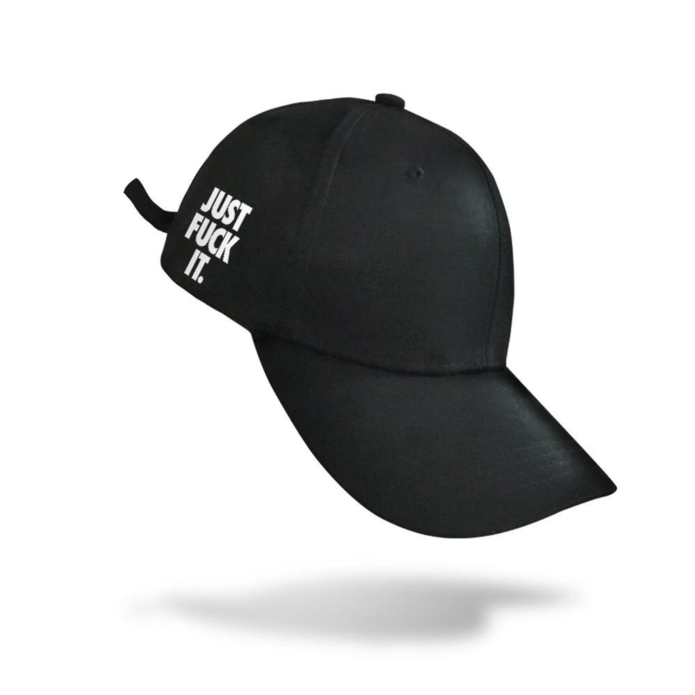 Image of Just Fuck It Cap (Black)