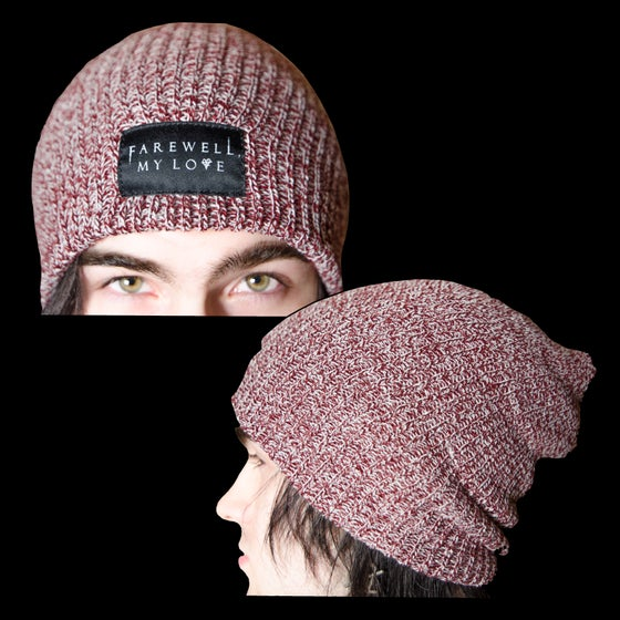 Image of Farewell, My Love - Maroon Beanie