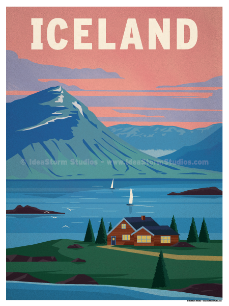 Image of Iceland Poster