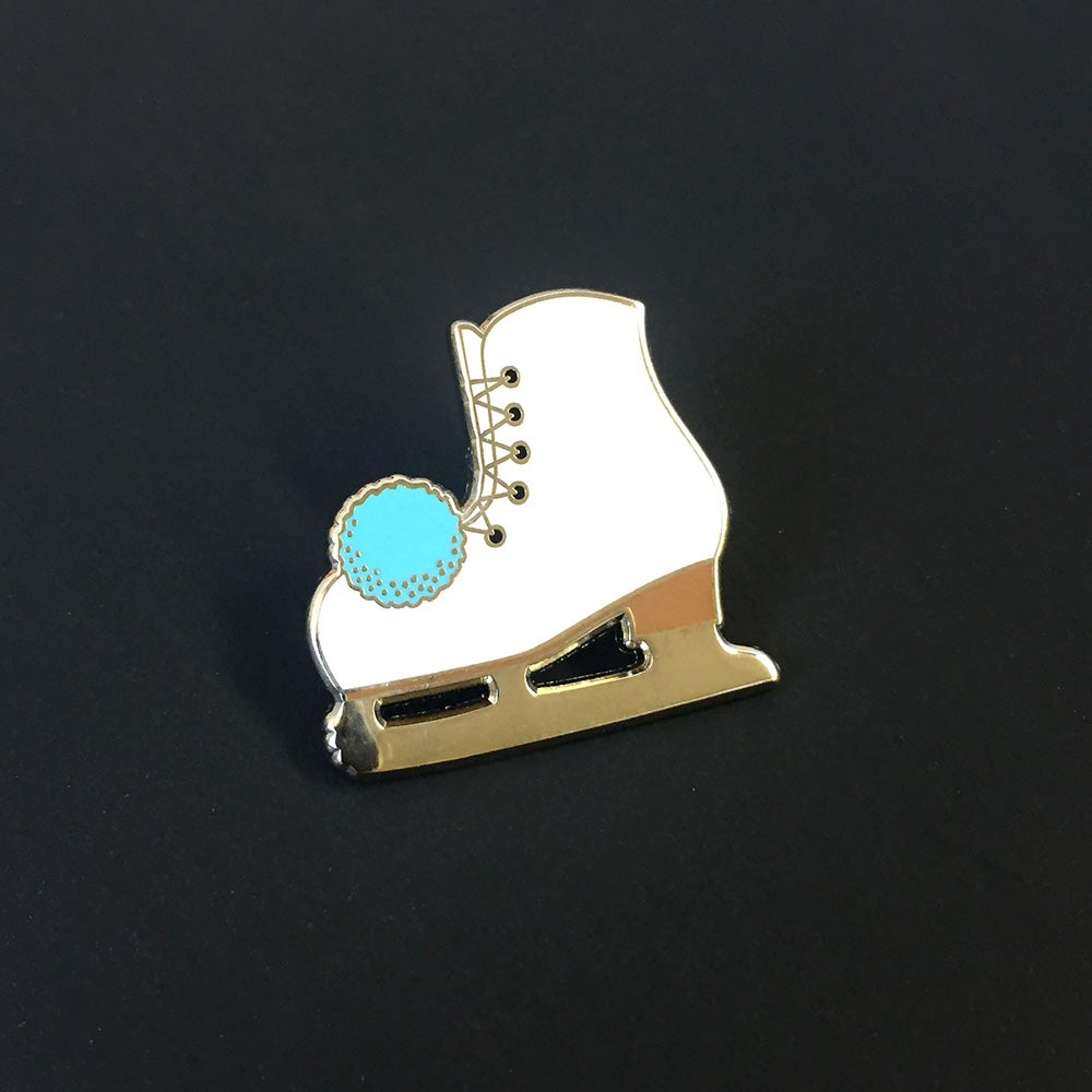 Image of Ice Skate Pin