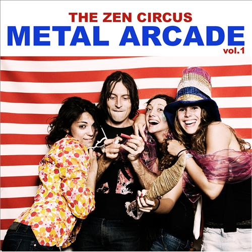 "Image of The Zen Circus - ""Metal Arcade Vol.1"" (Record Store Day)"