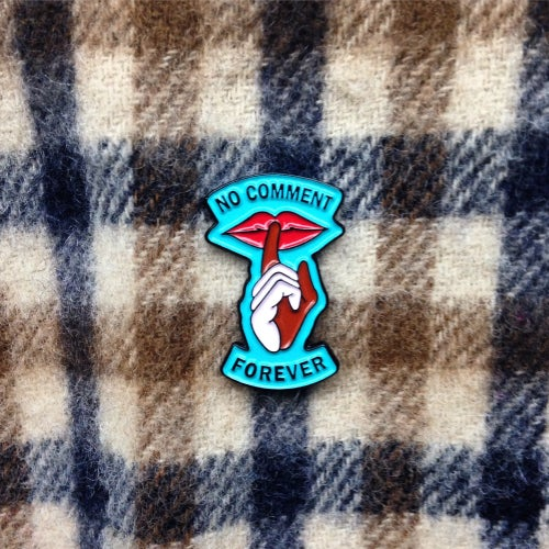 Image of No Comment Forever - Pin Badge Pack