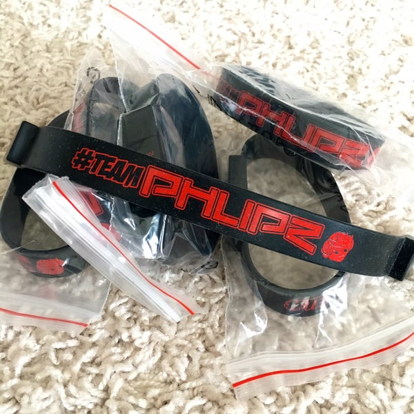 "Image of DJ PHLIPZ 16GB USB 2.0 ""TEAM PHLIPZ"" WRISTBAND"