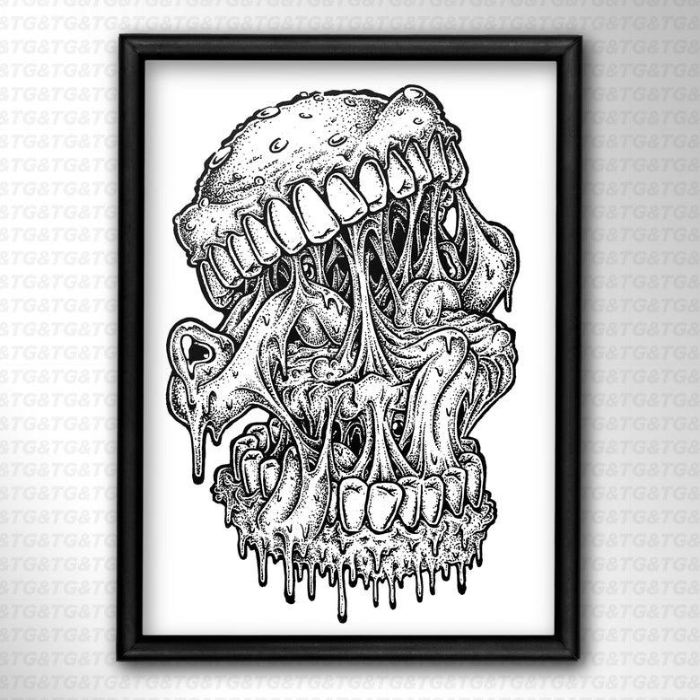 Image of Burger Print