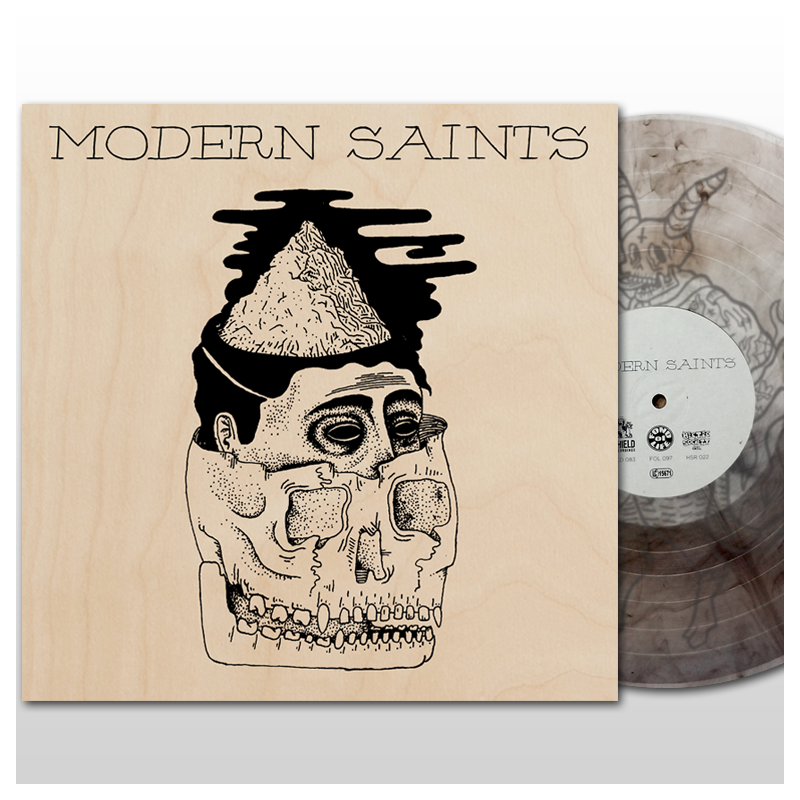 Image of Modern Saints - s/t EP (2016) - NATURAL EDITION