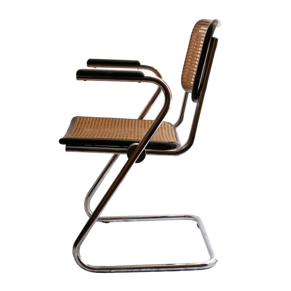 Image of Juego 4 sillas estilo Cesca / España / Años 70