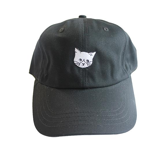 Image of FLUX CAT Hat - Black