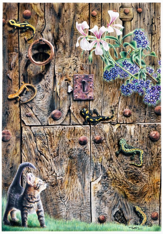 Image of PUERTA 01 - DOOR 01  2010 © José Vicente Santamaría – Valencia - Spain