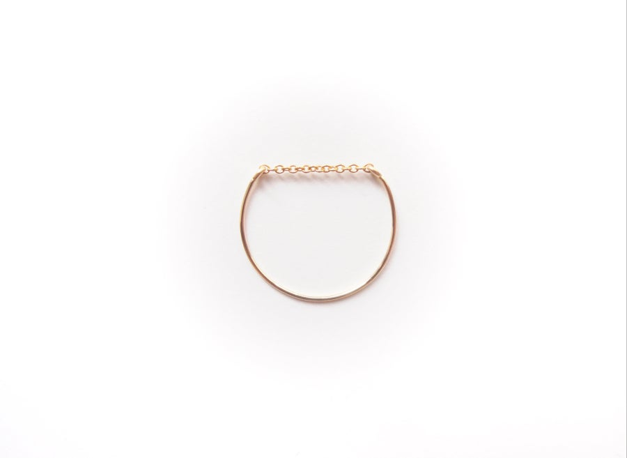 Image of Bague simple gold