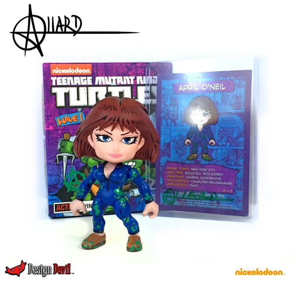 "Image of Custom Comic Style April O'neil ""Sewer"" Edition"