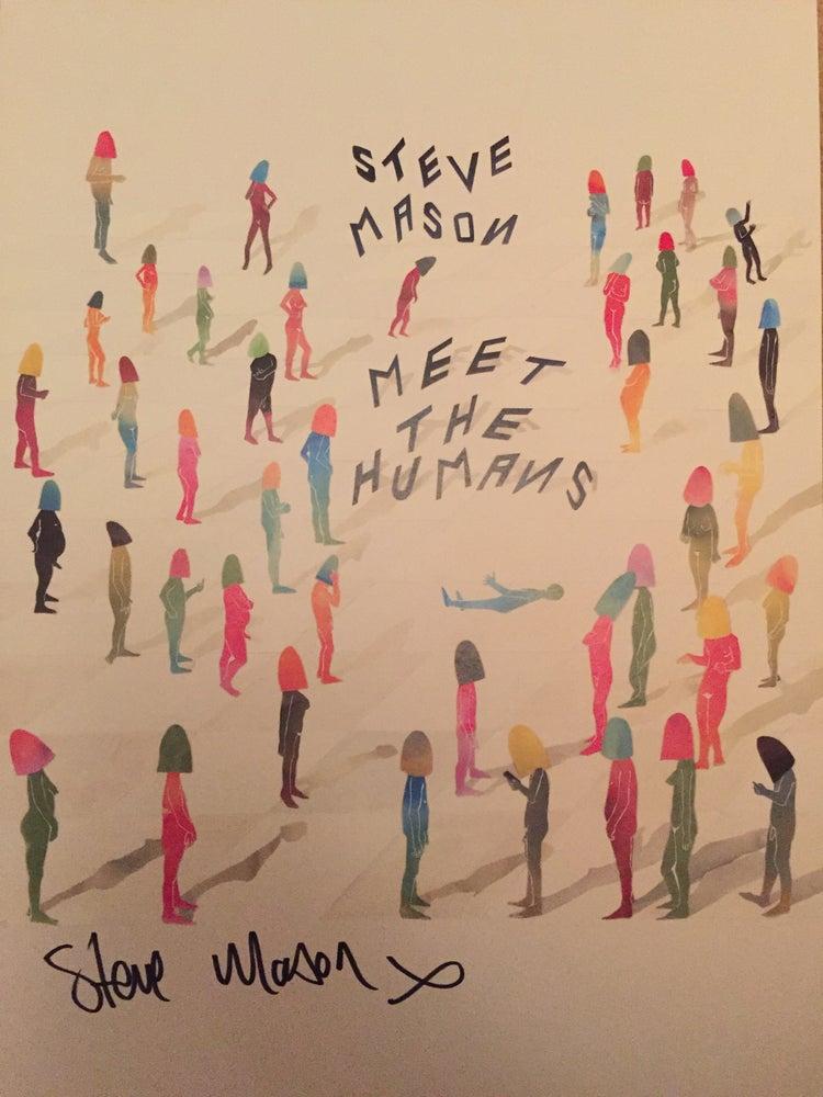 Image of Signed Meet The Humans Artprint