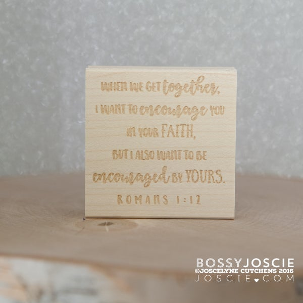 Image of Bible Verse: Romans 1:12