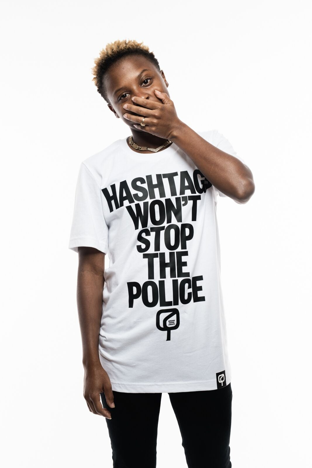 Image of HASHTAGS WON'T STOP THE POLICE