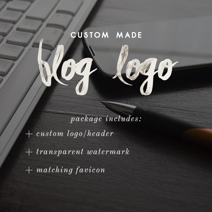 Image of Custom Blog Logo/Header