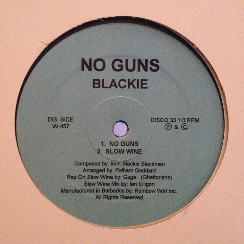 Image of Blackie - No guns