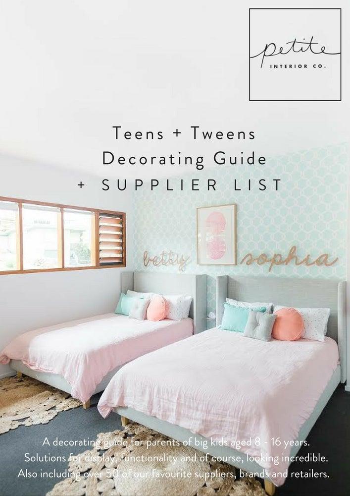 Image of Teens + Tweens Decorating Guide