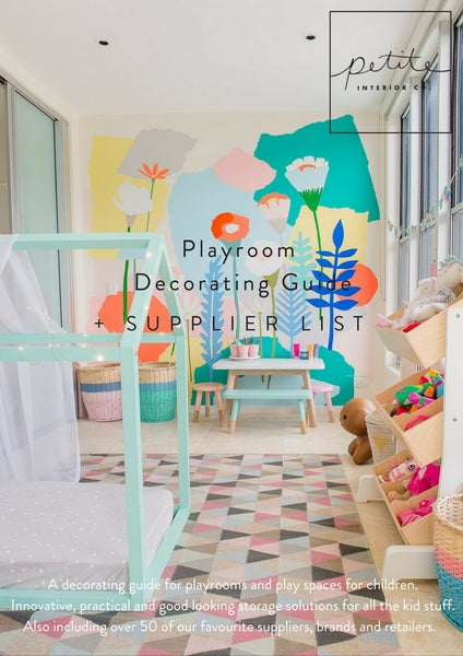 Image of Playroom Decorating Guide