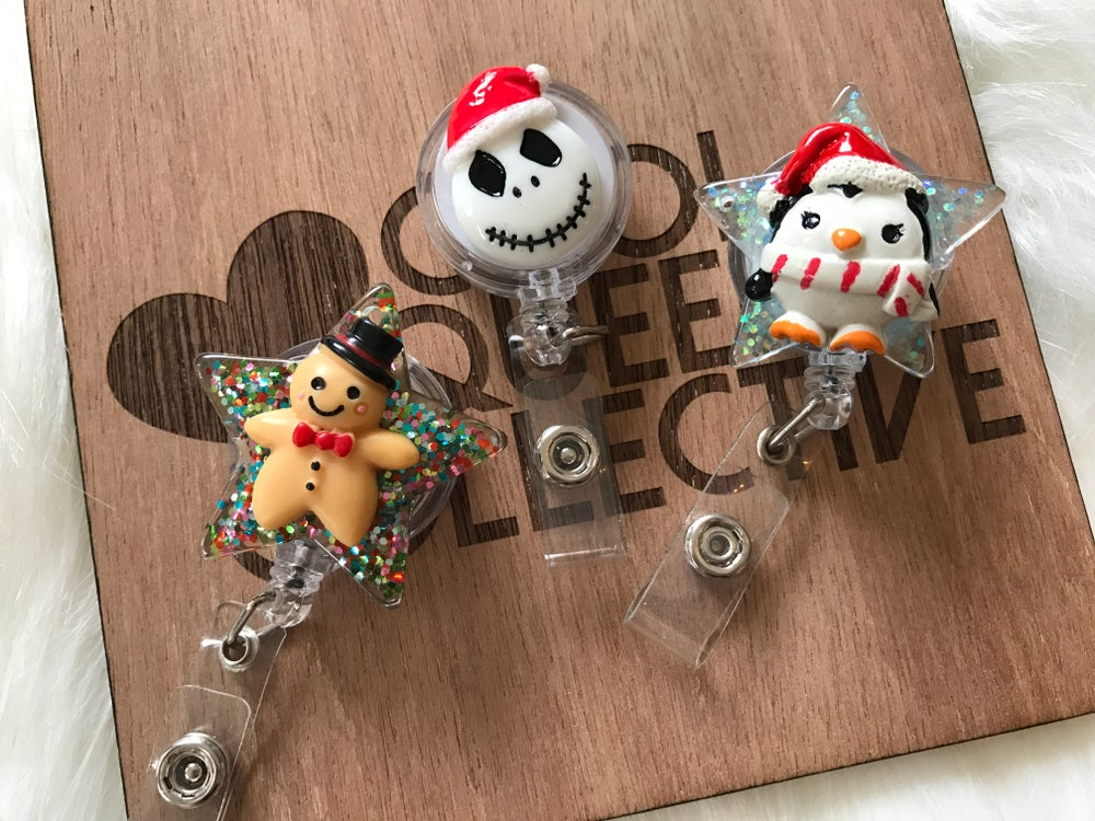 Image of Christmas ID Badge Reels