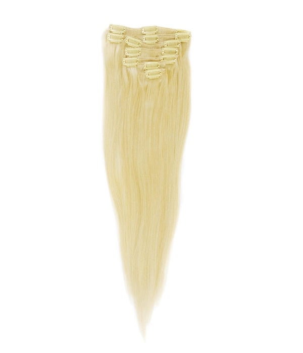 Image of Brazilian Blonde Straight Clip-In